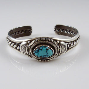 Vintage Indian Mountain Turquoise Cuff
