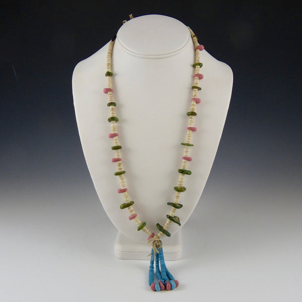 Heishi Bead and Jaclas Necklaces