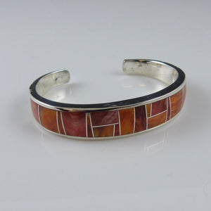 Spiny Oyster Shell Inlay Cuff
