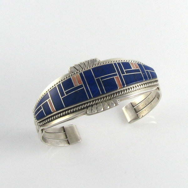 Lapis and Spiny Cuff