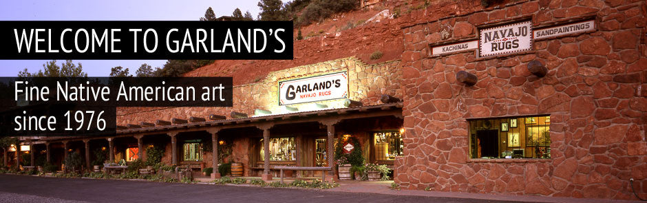 Welcome! Garland's Navajo Rugs: The destination for American Indian Art since 1976