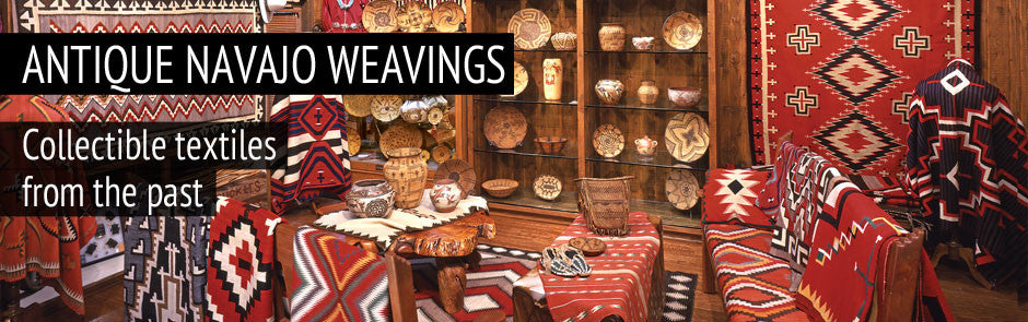Antique Navajo Weavings.  Browse our superb selection of Antique Navajo blankets and rugs.