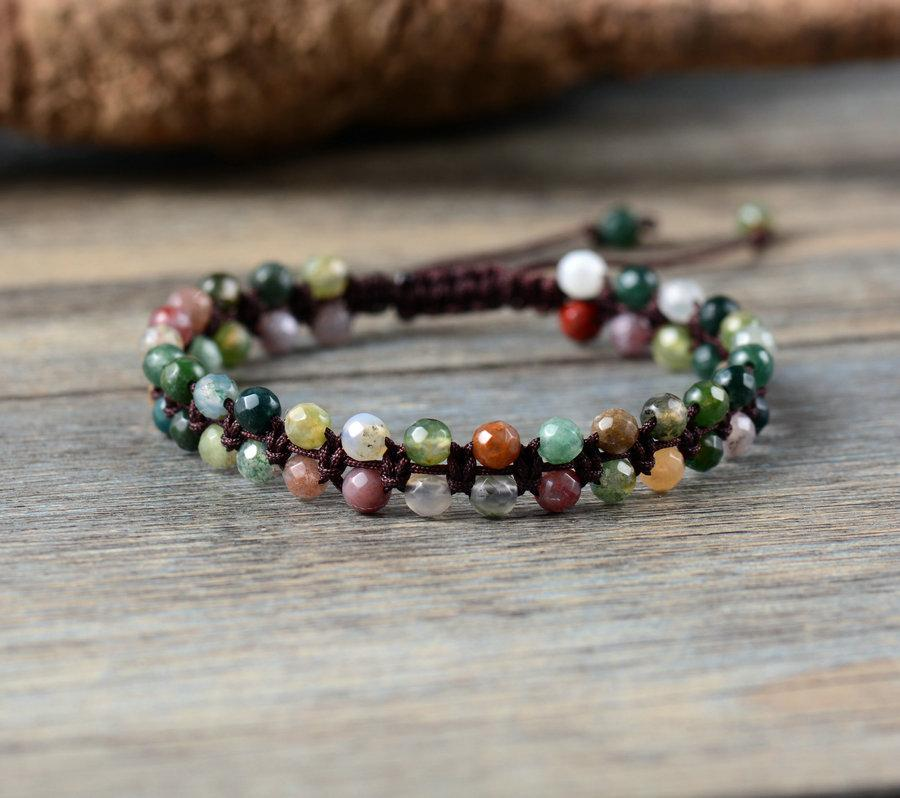 Handmade Braided Boho Bracelet Friendship and Happiness buy handmade bracelet