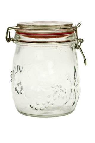 011 Classic Embossed Preserving Jar set online nz