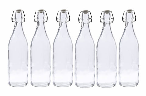 053_x6 Bulk Glass Water Bottles Online NZ