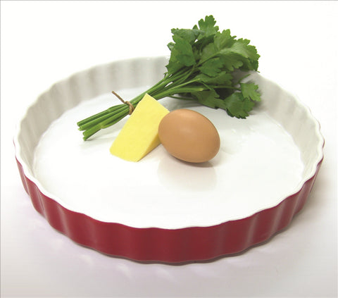 Quiche Dish Red - 26 cm