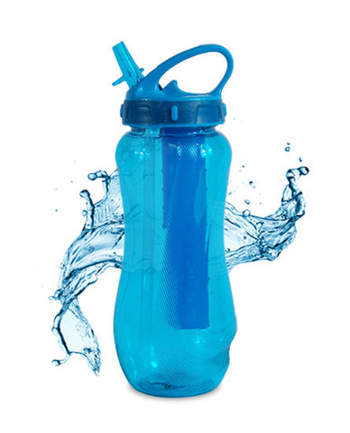 Cool Gear Horizon Drink Bottle With Freeze Stick 650ml