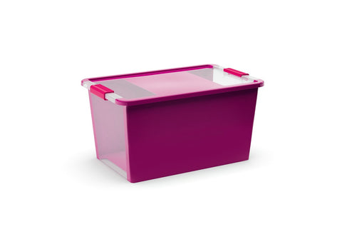 KIS Storage Box 40L Violet