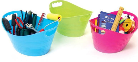 Oval Toy Storage Tub