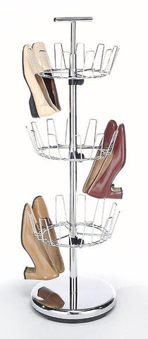 Whitmor Revolving Shoe Tree - 18 Pair