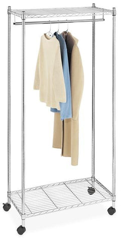 Whitmor Heavy Duty Garment Rack - Chrome