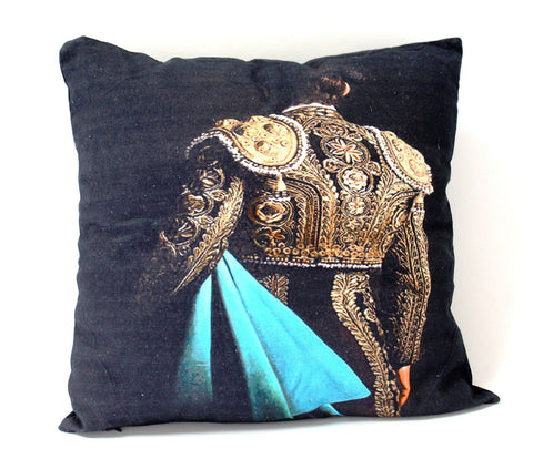 Bull Fighter Cushion
