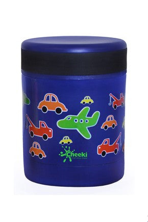 Cheeki Insulated Food Jar 350ml - Traffic