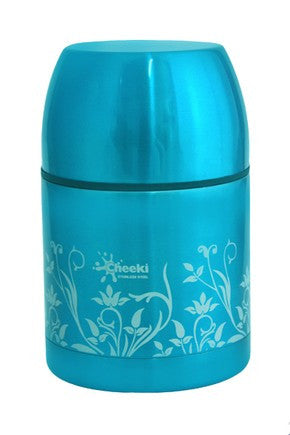 Cheeki SS Food Jar 550ml - Blue