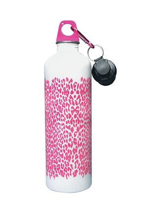 Cheeki Stainless Steel Water Bottle - Leopard