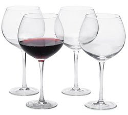 Artland Red Wine Glasses - Set 4