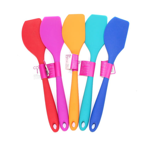 Core Kitchen Silicone Spatula Pointed End Bright Colours