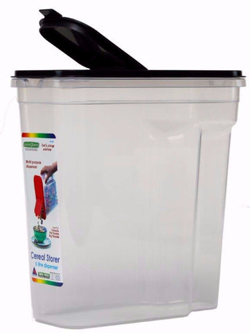 Cuisine Queen Cereal Storage Container 5 Litres