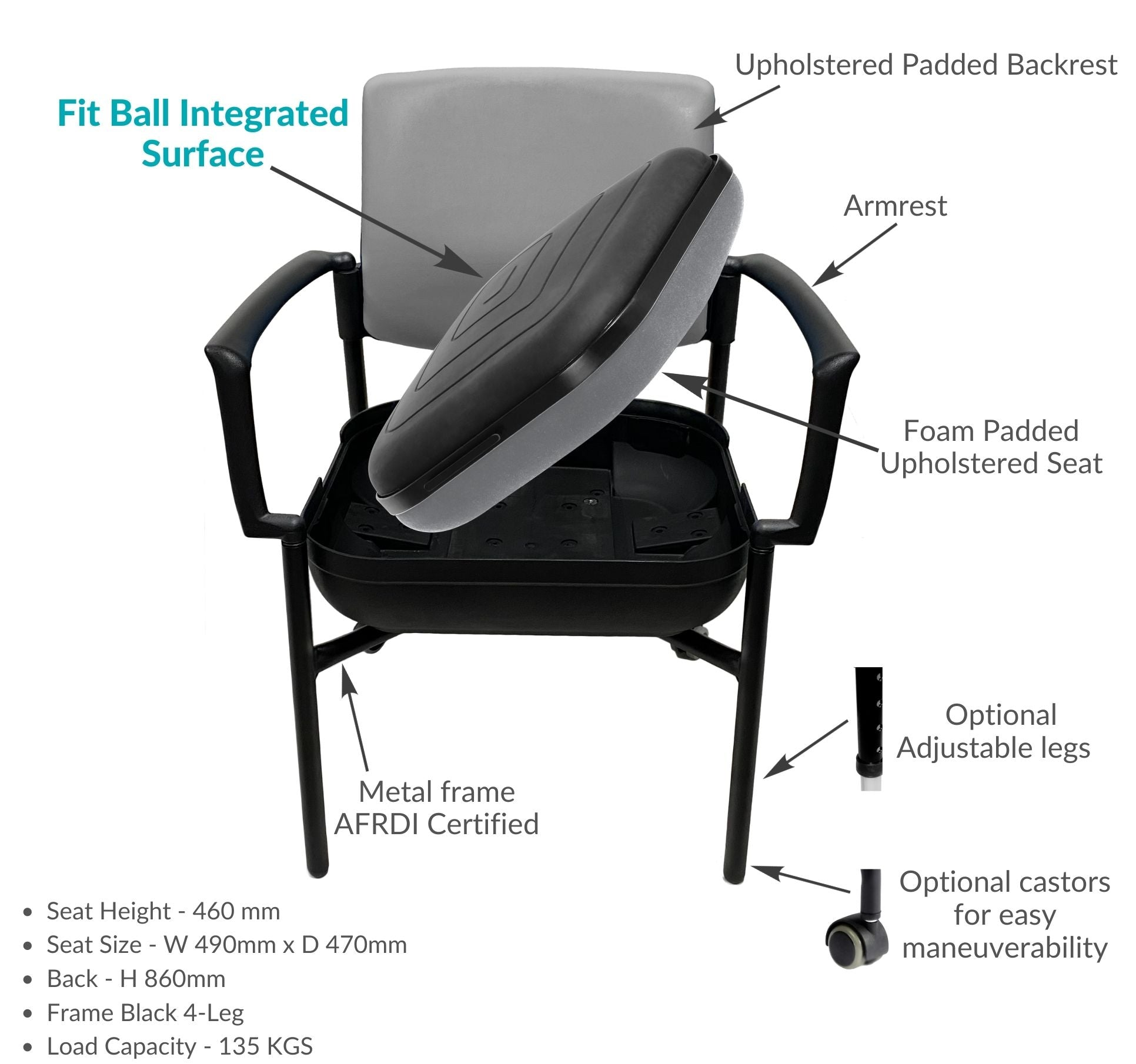 utility chair for mobility