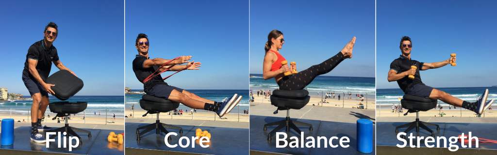 Marcus Bondi Exercise Core Balance and Strength