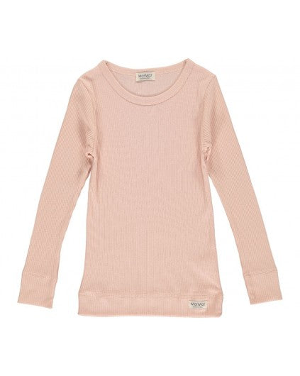 MODAL LONGSLEEVE TOP ROSE