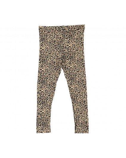LEOPARD LEGGINGS BROWN