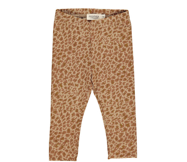 LEOPARD LEGGINGS - SIERRA