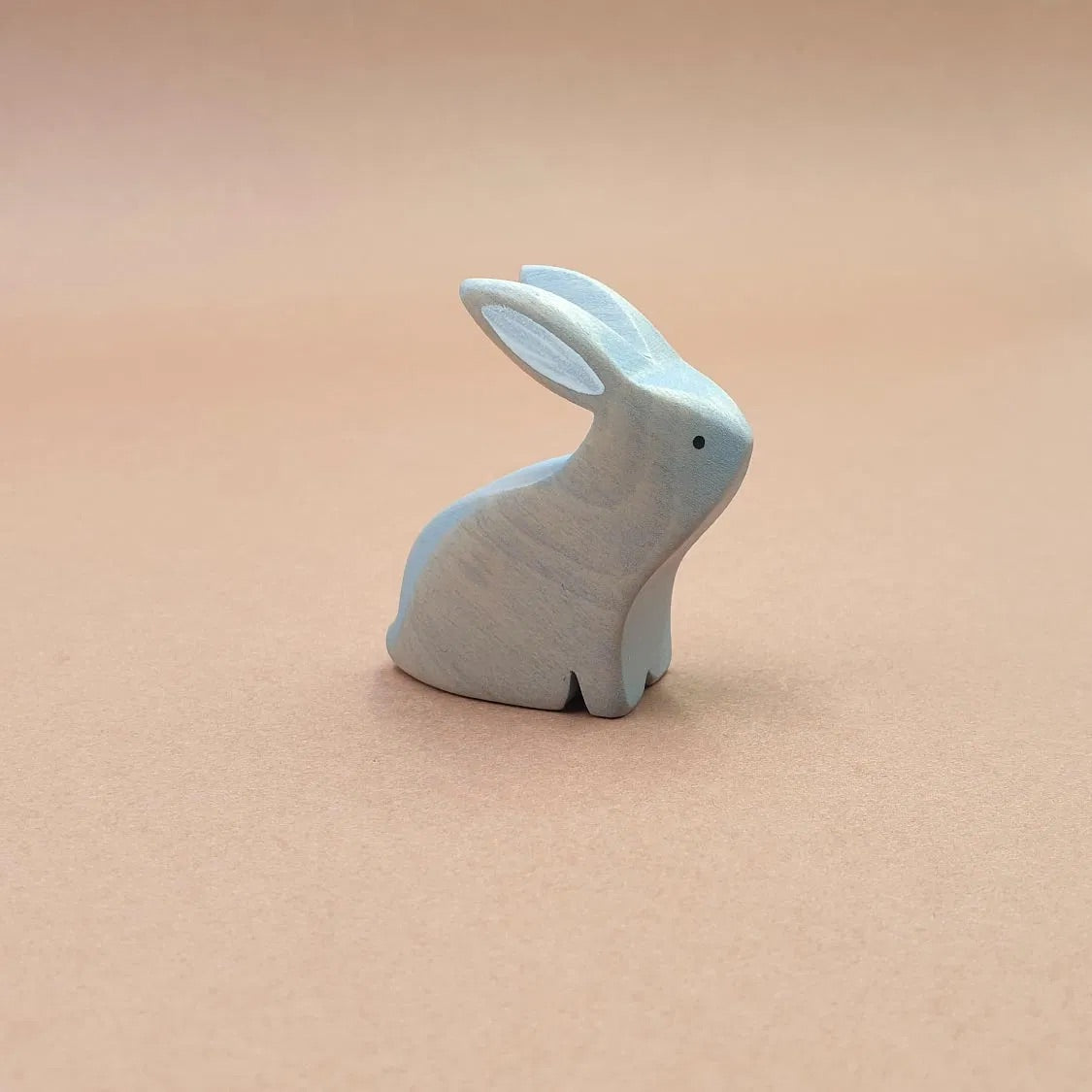 GREY RABBIT SITTING