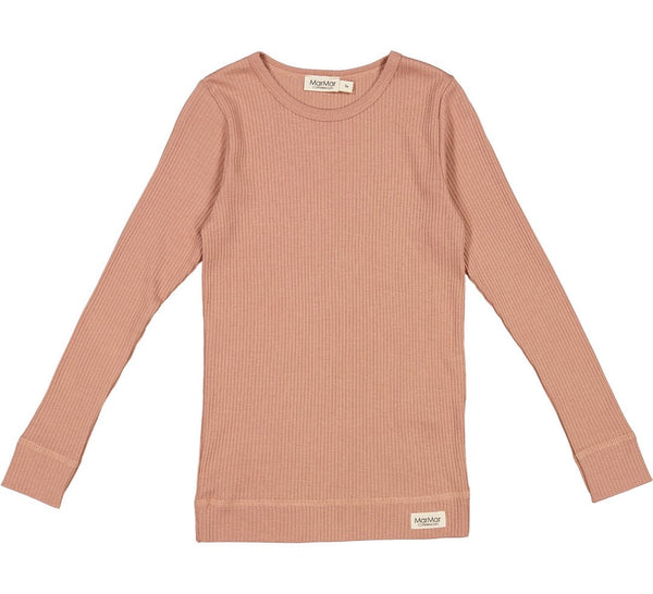 MODAL LONGSLEEVE TOP - ROSE BROWN
