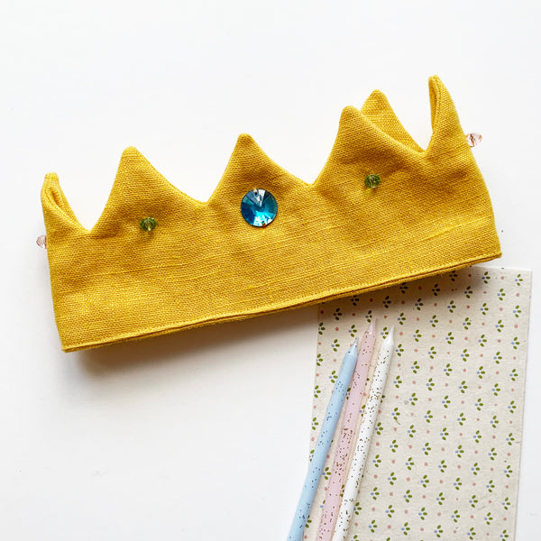 BIRTHDAY CROWN - SUNNY YELLOW