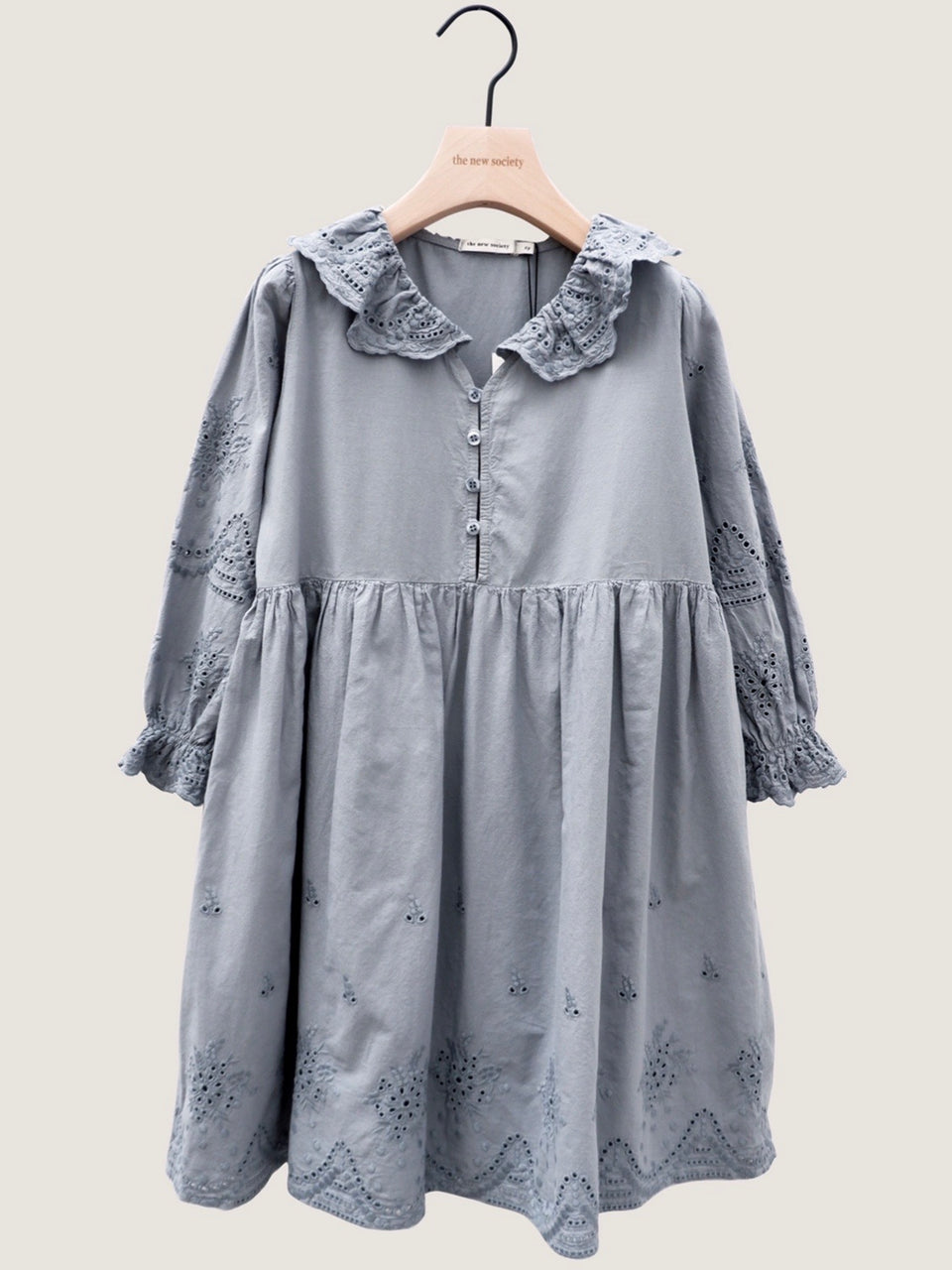 BEATRICE DRESS - SOFT BLUE