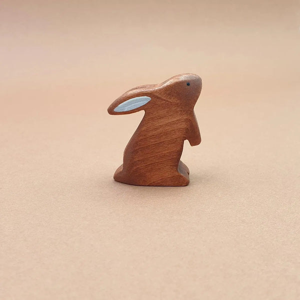BROWN RABBIT STANDING