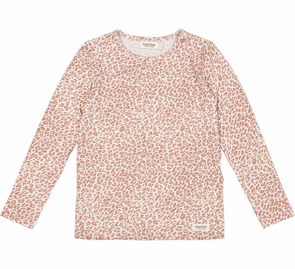 LEOPARD LONGSLEEVE - ROSE BROWN