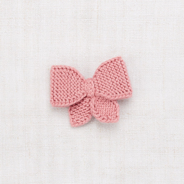MEDIUM PUFF BOW - ROSE BLUSH