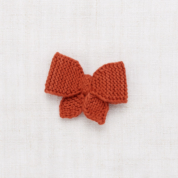 MEDIUM PUFF BOW - PAPRIKA