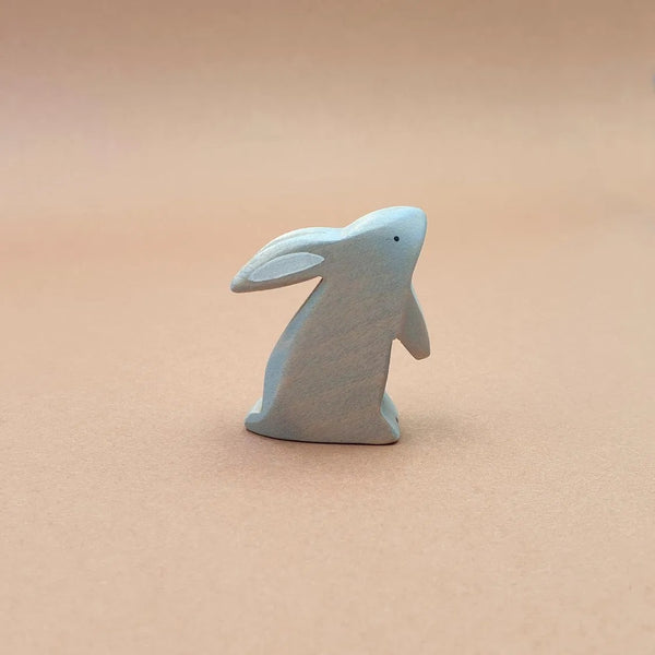 GREY RABBIT STANDING
