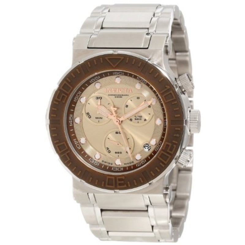 Invicta Men's Reef Reserve Chronograph Dial Stainless Steel Watch 10933