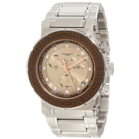 Invicta Men's Ocean Reef Reserve Chronograph Dial Stainless Steel Watch 10933