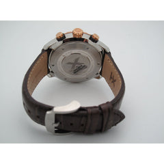 25ceb3844 ... Timex TX Men's Linear Chrono Rose Gold Tone Brown Leather Band Watch  T3C453 ...