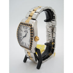 Invicta Angel Ladies Limited Edition Two-Tone Black Spinel Bezel Watch 14531