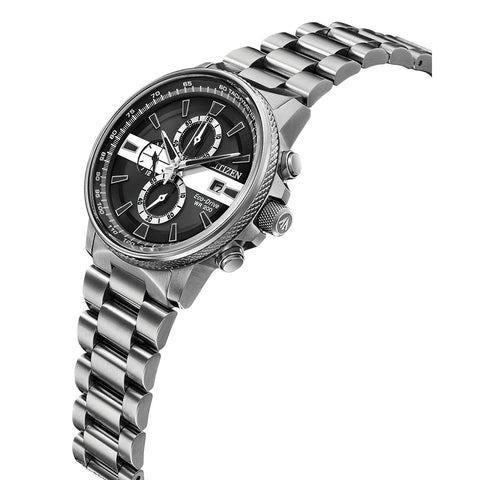 Citizen Men's Thin White Line™ Watch Chronograph 200M WR Eco Drive CA0296-55E