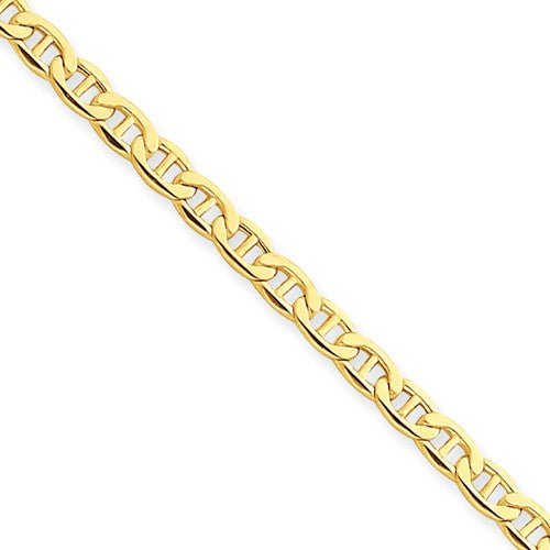 ANKQGBC122-10 14k Yellow Gold 3.20mm Anchor Chain