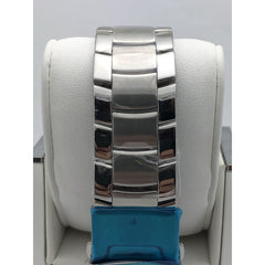 NJSPBA Men's Blue Dial Stainless Steel Bracelet Watch 385/1000