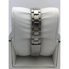 Tissot Ladies White Dial Silver Tone Stainless Steel Bracelet Watch J326/426