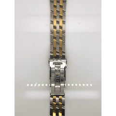 Breitling Two Tone Stainless Steel Strap Deployment Buckle 20-18MM 321D