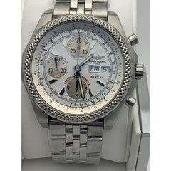 Breitling for Bentley Men's White Dial Continental GT Watch A13363