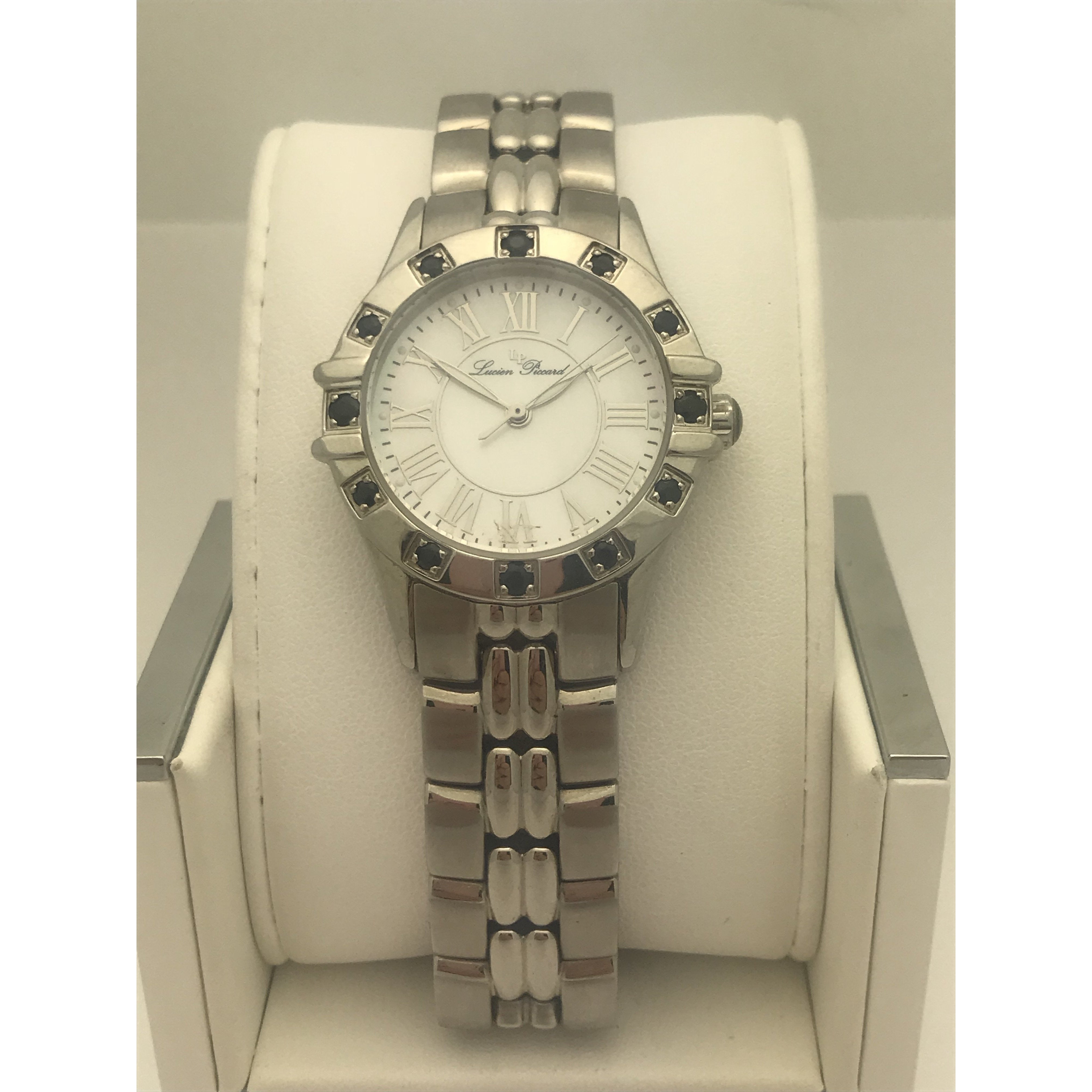 Lucien Piccard Ladies Mother of Pearl Dial Stainless Steel Watch 26985SSBU
