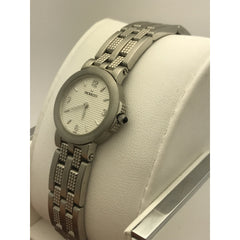 Movado Ladies Silver Tone Dial Stainless Steel Bracelet Watch 060374