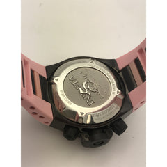 Invicta Ladies Subaqua Best Under Pressure Noma IV Pink Dial Silicone Band 11806
