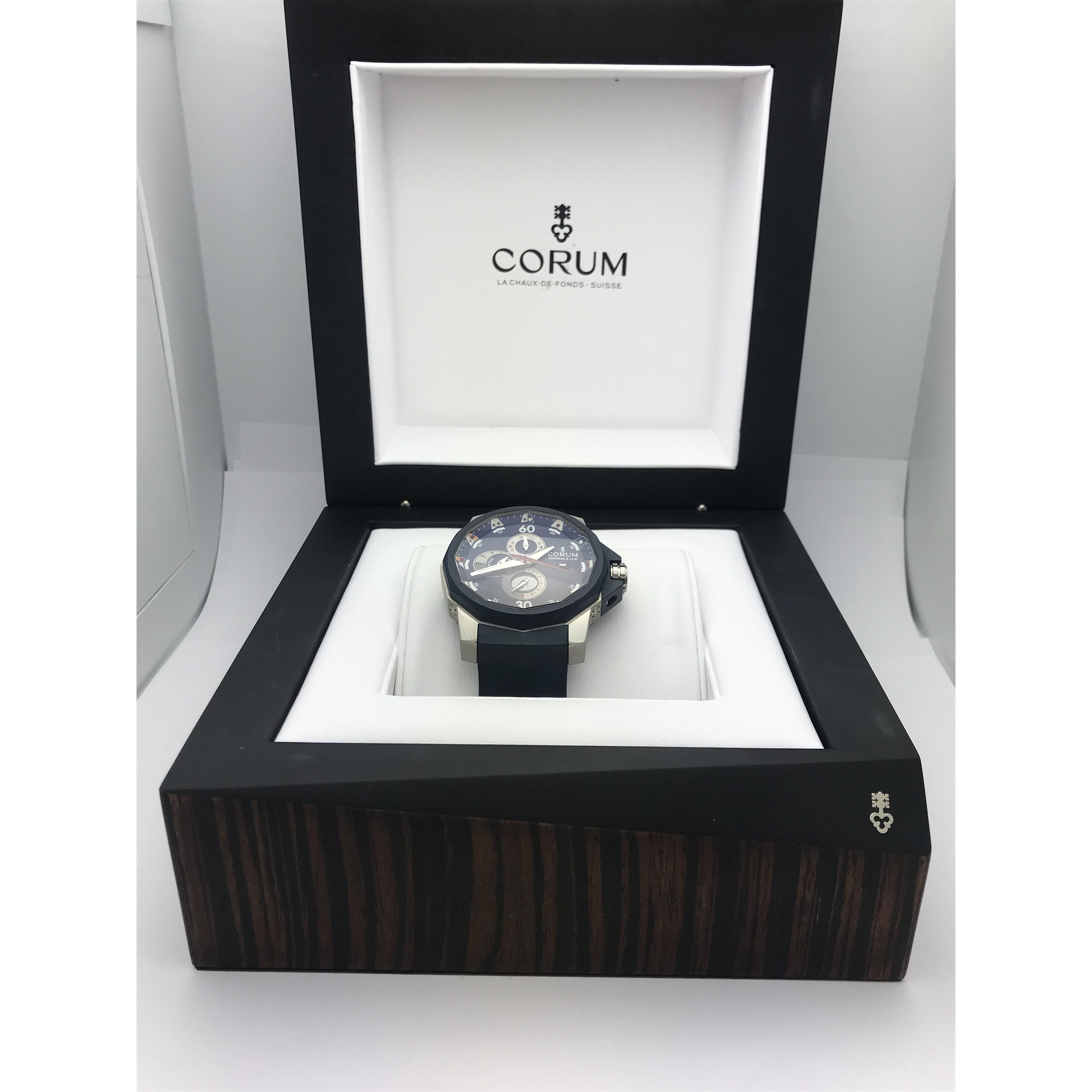Corum Men's Admiral's Cup Tides Automatic Watch 277-933-06-0373-AB12